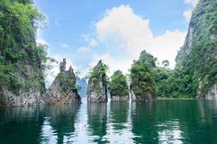 Khao sok Surat-thani Stock Photos