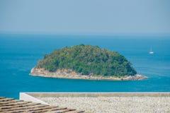 Beautiful view of Koh Pu (Crab Island). A small island peaceful. Island nearby Kata beach, Phuket, Thailand Royalty Free Stock Photography