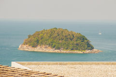 Beautiful view of Koh Pu (Crab Island). A small island peaceful Stock Image