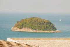 Beautiful view of Koh Pu (Crab Island). A small island peaceful. Island nearby Kata beach, Phuket, Thailand Stock Image