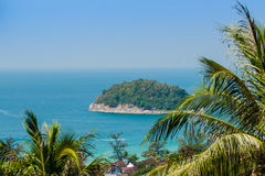 Beautiful view of Koh Pu (Crab Island). A small island peaceful Royalty Free Stock Photography