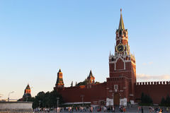 Beautiful view of Kremlin, Moscow, Russia Stock Images