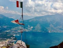Beautiful view - Lago di garda royalty free stock photo