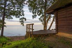 Beautiful view at lake 'Peipsi' in Estonia. Great relaxing place with a view at lake 'Peipsi' in Estonia Stock Photos