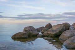 Beautiful view at lake 'Peipsi' in Estonia. Great relaxing place with a view at lake 'Peipsi' in Estonia Stock Image