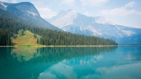 Emerald Lake, CANADA stock photography