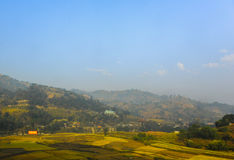 A beautiful view of landscape in Nepal Stock Photos