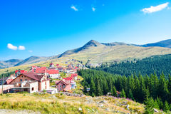 Beautiful view Landscape of transalpina, mountains Royalty Free Stock Photos