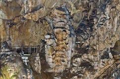 Beautiful view in Ledenika cave Stock Image