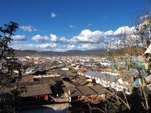 The beautiful view in Lijiang Old town .Yunan, China Royalty Free Stock Photography