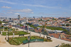 Beautiful view of Lisbon city, Portugal Royalty Free Stock Photos