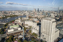 Beautiful view of London in England Stock Photos