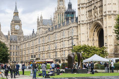 Beautiful view of London in England Stock Photo