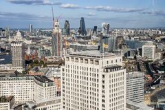 Beautiful view of London in England Stock Images