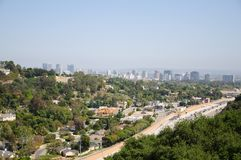 Beautiful view of Los Angeles city Stock Image