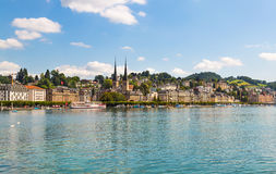 Beautiful view of Lucerne, Switzerland Stock Images