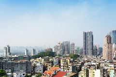 Beautiful view of Macau city Stock Photography