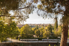 Beautiful View of Madrid Royalty Free Stock Image
