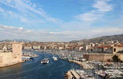 Beautiful view of Marseille Royalty Free Stock Photos