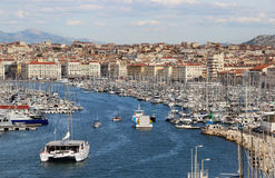 Beautiful view of Marseille Royalty Free Stock Images