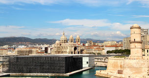 Beautiful view of Marseille Stock Photo
