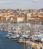 Beautiful view of Marseille, Provence Stock Images