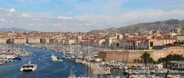 Beautiful view of Marseille Royalty Free Stock Image