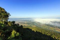 Beautiful View Mekong River at Wat Pha Tak Suea Royalty Free Stock Image
