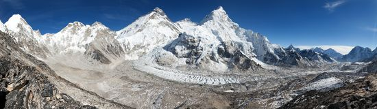 Beautiful view of mount Everest Royalty Free Stock Photography