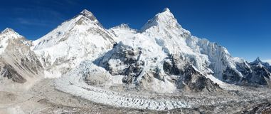Beautiful view of mount Everest Royalty Free Stock Image