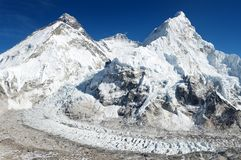 Beautiful view of mount Everest Stock Images