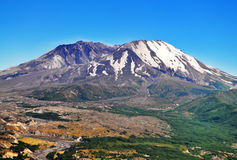 A beautiful View of Mount Saint Helens Stock Photography
