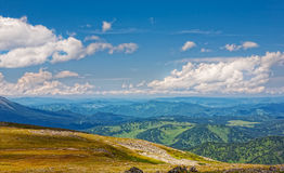 Beautiful view of mountain Altai Stock Images