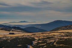 Beautiful view of Mountain-Krkonose, Czech Rep. royalty free stock image