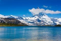 Beautiful view of the mountain lake Royalty Free Stock Photo