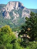 Beautiful view at mountain peak at Djerdap, Serbia Stock Images