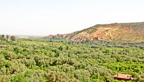Beautiful view of mountains. (Atlas mountains, Morocco Royalty Free Stock Photography