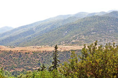 Beautiful view of mountains. Beautiful view of Atlas mountains Royalty Free Stock Photo