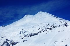 Beautiful view of mountains. In the Elbrus area. Panorama Royalty Free Stock Photos