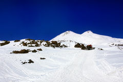 Beautiful view of mountaint Elbrus Stock Image