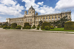 Beautiful view of Museum of Fine Arts,Vienna, Royalty Free Stock Photo