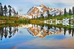 A beautiful View near Mt Shuksan Stock Photography