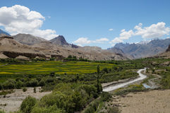 Beautiful view near Namika La,Altitude 12198 Ft in Ladakh,Northe Stock Photos