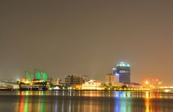 A beautiful view in Ho Chi Minh city stock photo