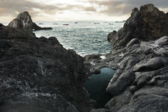 Beautiful view of ocean Royalty Free Stock Photo