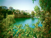 Free Beautiful View Of A Village Of Crete Stock Images - 44499654