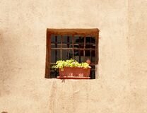 Free Beautiful View Of An Old Thatched Wall With A Window Decorated With Wood And A Beautiful Vase, Yazd, Iran Royalty Free Stock Photo - 192418485
