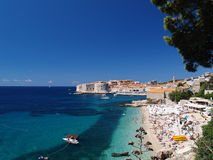 Beautiful View Of Dubrovnik Royalty Free Stock Photo