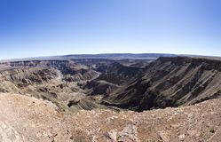 Beautiful View Of Fishriver Canyon Stock Image