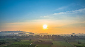 Free Beautiful View Of Green Fields Royalty Free Stock Images - 91040299